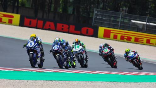 Bruno Ieraci, Machado CAME SBK, Misano RACE 1
