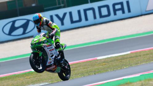 Adrian Huertas, MTM Kawasaki, Misano RACE 1