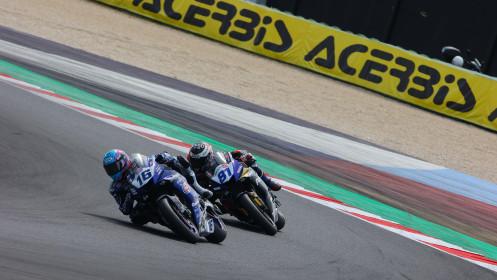 Jules Cluzel, GMT94 Yamaha, Misano RACE 1