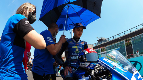 Bahattin Sufuoglu, Biblion Yamaha Motoxracing, Misano RACE 1