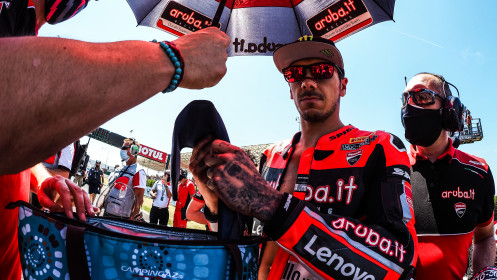 Scott Redding, Aruba.it Racing - Ducati, Misano RACE 1
