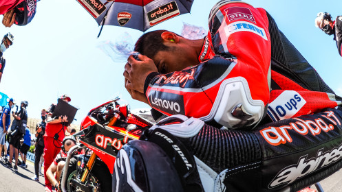 Michael Ruben Rinaldi, Aruba.it Racing - Ducati, Misano RACE 1