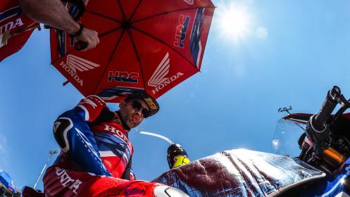 Alvaro Bautista, Team HRC, Misano RACE 1