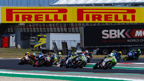 Koen Meuffels, MTM Kawasaki, Misano RACE 1