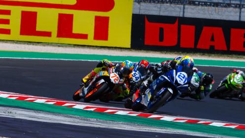 Vincente Perez Selfa, Machado CAME SBK, Misano RACE 1