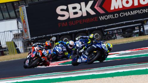 Luca Bernardi, CM Racing, Misano RACE 1