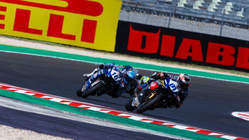 Manuel Gonzalez, Yamaha ParkinGo Team, Misano RACE 1