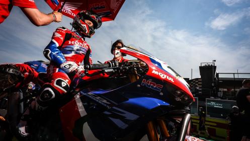 Alvaro Bautista, Team HRC, Misano Tissot Superpole RACE