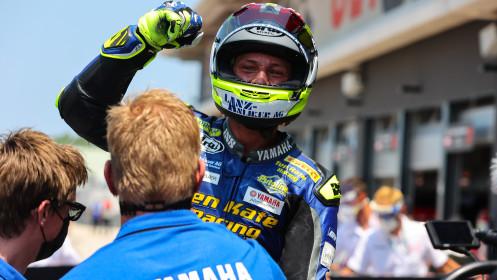 Dominique Aegerter, Ten Kate Racing Yamaha, Misano RACE 2