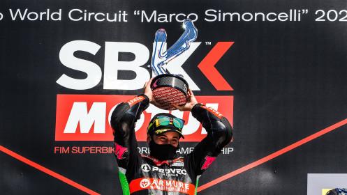 Ana Carasco, Kawasaki Provec WorldSSP300, Misano RACE 2