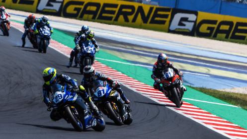 Luca Bernardi, CM Racing, Misano RACE 2
