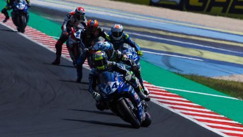 Federico Caricasulo, GMT94 Yamaha, Misano RACE 2