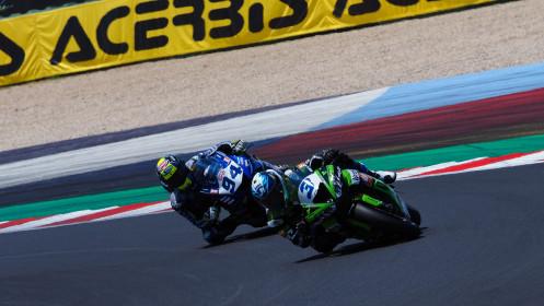 Raffaele de Rosa, Orelac Racing VerdNatura, Misano RACE 2