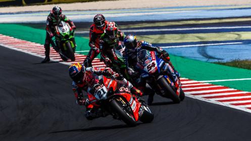 Michael Ruben Rinaldi, Aruba.it Racing - Ducati, Misano RACE 2