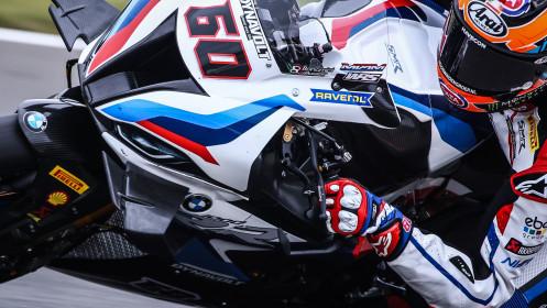 Michael van der Mark, BMW Motorrad WorldSBK Team, Donington FP2