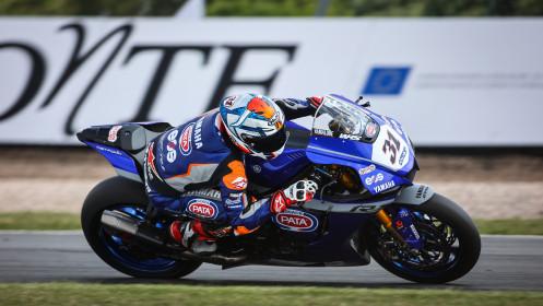 Garrett Gerloff, GRT Yamaha WorldSBK Team, Donington FP2
