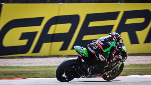 Alex Lowes, Kawasaki Racing Team WorldSBK, Donington FP2