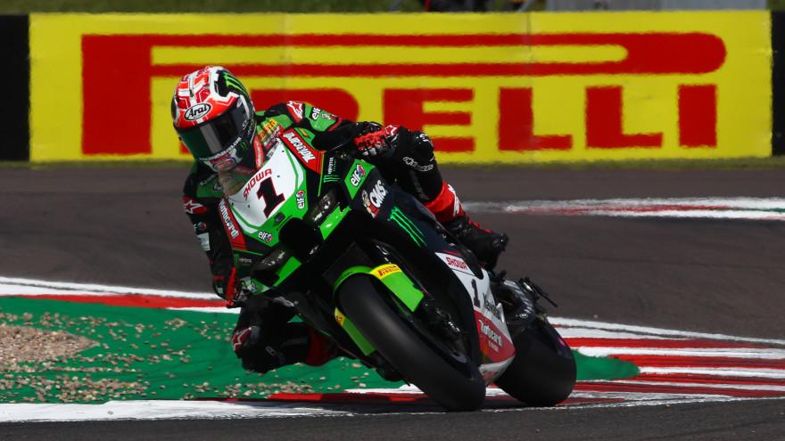 Jonathan Rea, Kawasaki Racing Team WorldSBK, Donington FP2