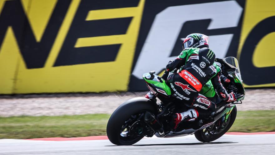 Jonathan Rea, Kawasaki Racing Team WorldSBK, Donington FP1