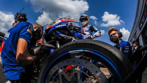Andrea Locatelli, Pata Yamaha with BRIXX WorldSBK, Donington FP2