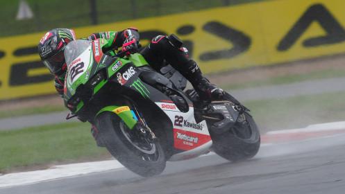 Alex Lowes, Kawasaki Racing Team WorldSBK, Donington FP3