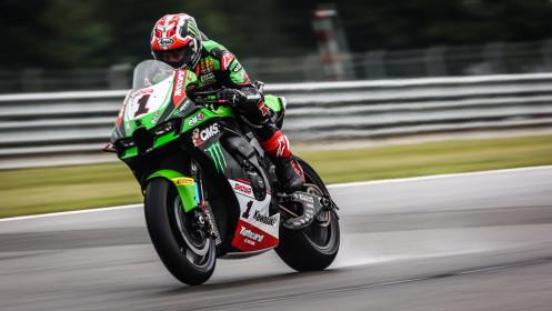 Jonathan Rea, Kawasaki Racing Team WorldSBK, Donington Tissot Superpole