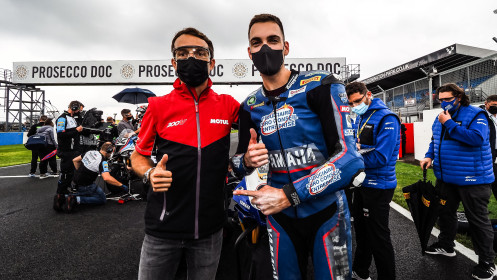 Christophe Ponsson, Alstare Yamaha, Donington RACE 1