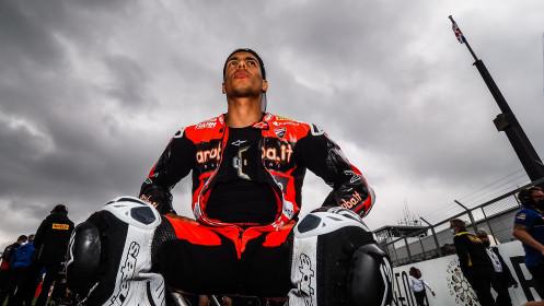 Michael Ruben Rinaldi, Aruba.it Racing - Ducati, Donington RACE 1
