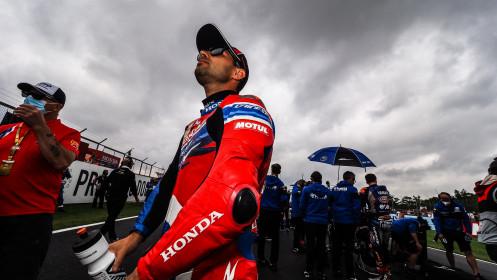 Leon Haslam, Team HRC, Donington RACE 1