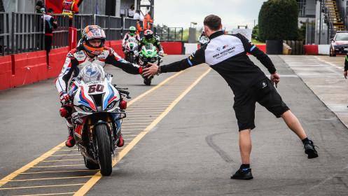 Michael van der Mark, BMW Motorrad WorldSBK Team, Donington Tissot Superpole RACE