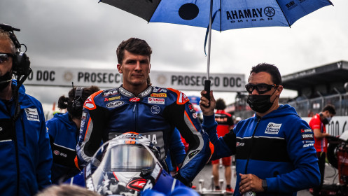 Garret Gerloff, GRT Yamaha WorldSBK Team, Donington Tissot Superpole RACE
