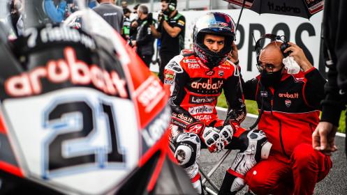 Michael Ruben Rinaldi, Aruba.it Racing - Ducati, Donington Tissot Superpole RACE