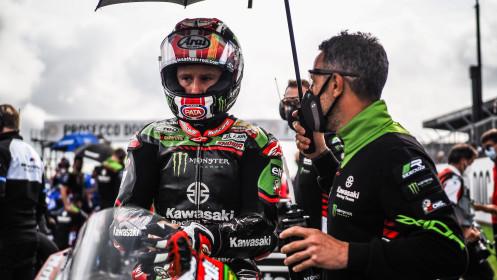 Jonathan Rea, Kawasaki Racing Team WorldSBK, Donington Tissot Superpole RACE
