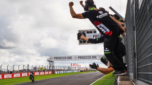 Jonathan Rea, Kawasaki Racing Team WorldSBK, Donington SPR