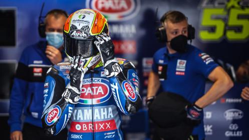 Andrea Locatelli, Pata Yamaha with BRIXX WorldSBK, Assen FP1
