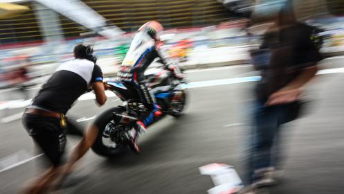 Michael van der Mark, BMW Motorrad WorldSBK Team, Assen FP2