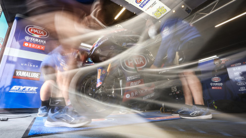 Andrea Locatelli, Pata Yamaha with BRIXX WorldSBK, Assen FP2
