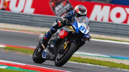 Manuel Gonzalez, Yamaha ParkinGo Team, Assen FP2