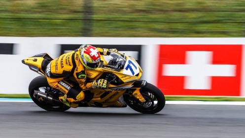 Dominique Aegerter, Ten Kate Racing Yamaha, Assen FP1