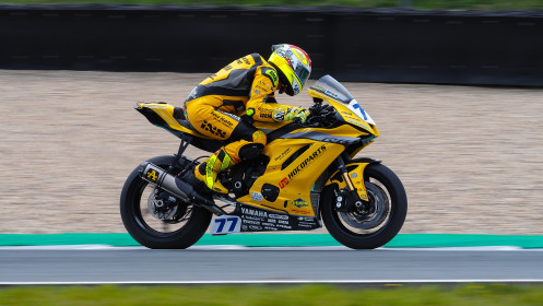 Dominique Aegerter, Ten Kate Racing Yamaha, Assen FP2