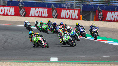 Adrian Huertas, MTM Kawasaki, Assen RACE 1