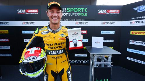 Dominique Aegerter, Ten Kate Racing Yamaha, Assen Tissot Superpole