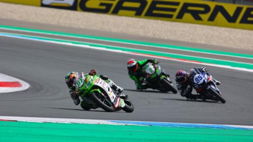 Yuta Okaya, MTM Kawasaki, Assen RACE 1