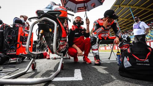 Michael Ruben Rinaldi, Aruba.it Racing - Ducati, Assen RACE 1