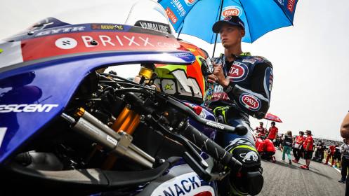 Andrea Locatelli, Pata Yamaha with BRIXX WorldSBK, Assen RACE 1