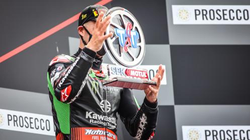 Jonathan Rea, Kawasaki Racing Team WorldSBK, Assen RACE 1