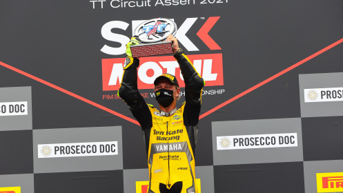 Dominique Aegerter, Ten Kate Racing Yamaha, Assen RACE 2