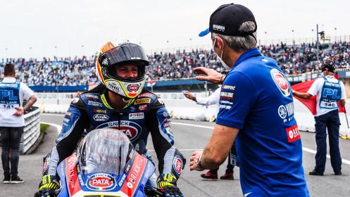 Andrea Locatelli, Pata Yamaha with BRIXX WorldSBK, Assen RACE 2