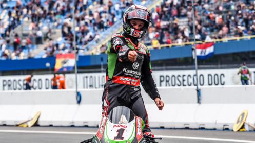 Jonathan Rea, Kawasaki Racing Team WorldSBK, Assen RACE 2