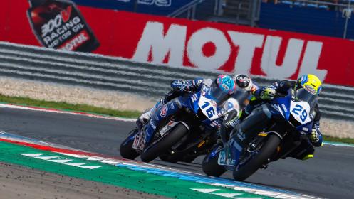 Luca Bernardi, CM Racing, jules Cluzel, GMT94 Yamaha, Assen RACE 2